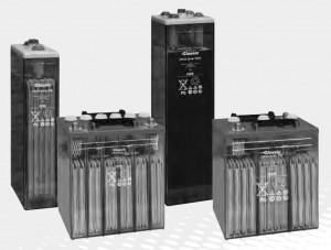 Gamme EXIDE Classic OPzS Solar - 2V (6 & 12V) - 190 à 4600Ah