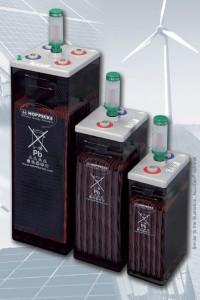 Gamme HOPPECKE OPzS solar.power - 2V - 280 à 4700Ah