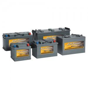 Gamme batteries plomb scellées à électrolyte gelifié INTACT Gel Power - 12V / 18 à 230Ah, 6V / 200 & 330Ah
