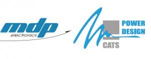 Logo MDP Electronics - CATS POWER DESIGN, fabricant français électronique de puissance