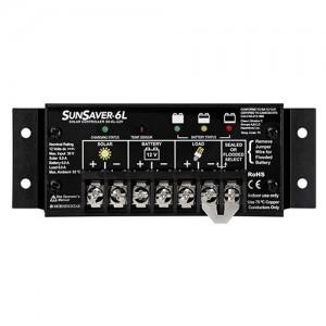 Régulateur solaire de charge décharge MORNINGSTAR SunSaver - 12 ou 24V - 6, 10 & 20A