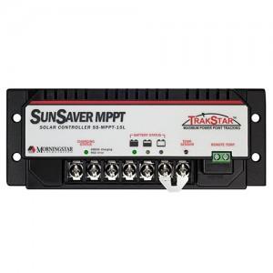 Régulateur solaire de charge décharge MPPT MORNINGSTAR SunSaver SS-MPPT-15 - 12/24V - 15A