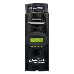 Régulateur solaire de charge décharge MPPT OUTBACK Flexmax FM80 - 12/24/36/48V - 80A