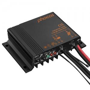 Régulateur solaire de charge décharge PHOCOS CIS - 12/24V - 5, 10 & 20A