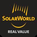 Logo SOLARWORLD, fabricant allemand de modules photovoltaïques