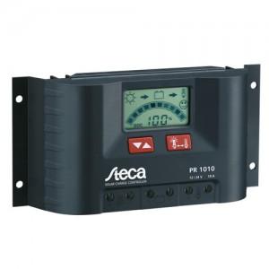 Régulateur solaire de charge décharge avec afficheur LCD STECA PR1010 - 12/24V - 10A