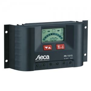 Régulateur solaire de charge décharge avec afficheur LCD STECA PR1515 - 12/24V - 15A