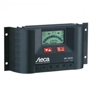 Régulateur solaire de charge décharge avec afficheur LCD STECA PR2020 - 12/24V - 20A