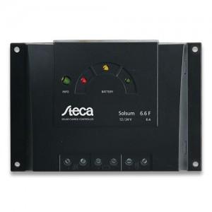 Régulateur solaire de charge décharge STECA Solsum - 12/24V - 6, 8 & 10A