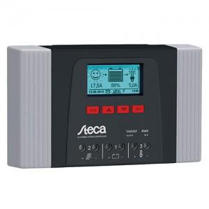 Régulateur solaire de charge décharge avec afficheur LCD et datalogger STECA Tarom - 12/24/48V - 35 & 45A