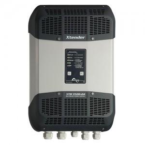 Convertisseur-onduleur-chargeurs STUDER Xtender - 12V-1500VA (XTM 1500-12), 12V-2000VA (XTM 2000-12), 24V-2000VA (XTM 2400-24), 48V-2000VA (XTM 2600-48), 24V-3000VA (XTM 3500-24) et 48V-3500VA (XTM 4000-48)