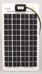 Panneau semi-rigide Sunware SW-3061 - technologie cristalline - 12Wc - 12V