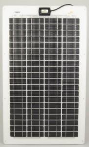 Panneau semi-rigide Sunware SW-3265 - technologie cristalline - 48Wc - 24V