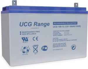 Batterie plomb scellée à électrolyte gelifié ULTRACELL UCG100-12 - 12V - 100Ah
