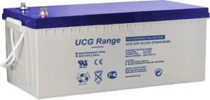 Batterie plomb scellée à électrolyte gelifié ULTRACELL UCG275-12 - 12V - 275Ah