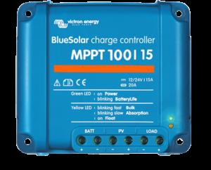 Régulateur solaire de charge décharge MPPT avec afficheur LCD VICTRON BlueSolar MPPT 100/15 - 12/24V - 15A
