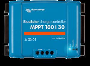 Régulateur solaire de charge décharge MPPT avec afficheur LCD VICTRON BlueSolar MPPT 100/30 - 12/24V - 30A