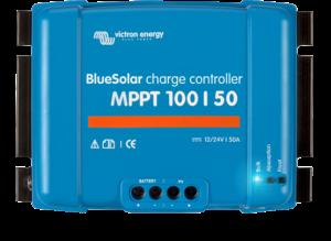 Régulateur solaire de charge décharge MPPT avec afficheur LCD VICTRON BlueSolar MPPT 100/50 - 12/24V - 50A