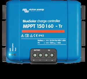 Régulateur solaire de charge décharge MPPT avec afficheur LCD VICTRON BlueSolar MPPT 150/60 Tr - 12/24/48V - 60A