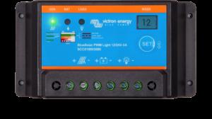 Régulateur solaire VICTRON avec fonction éclairage nocturne BlueSolar PWM-Light 12/24V - 5A