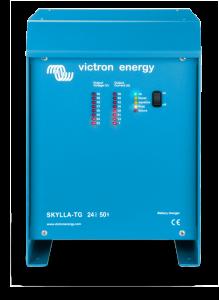 Gamme de chargeurs de batteries VICTRON Skylla TG - 24V-30A, 24V-50A, 24V-50A triphasé, 24V-80A, 24V-100A, 24V-100A triphasé, 48V-25A & 48V-50A