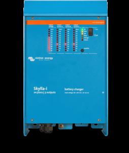 Gamme de chargeurs de batteries VICTRON Skylla_i - 24V-80+4A, 24V-80A triphasé, 24V-100+4A & 24V-100A triphasé