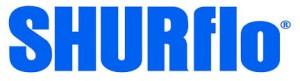 Logo SHURFLO, fabricant américain de pompes DC