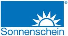 Logo SONNENSCHEIN, fabricant allemand (groupe EXIDE Technologies) de batteries plomb acide à électrolyte gélifié