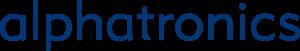 Logo Alphatronics, fabricant allemand de télévisions 12Vdc