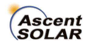 Logo Ascent SOLAR : fabricant américain de modules photovoltaïques souples