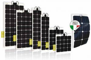 Gamme de modules photovoltaïques semi-rigides GIOCO SOLUTIONS GSC - cellules monocristallines - 75 à 170Wc
