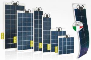 Gamme de modules photovoltaïques semi-rigides GIOCO SOLUTIONS GSP - cellules polycristallines - 65 à 145Wc