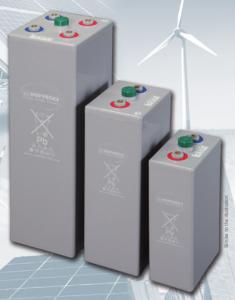 HOPPECKE OPzV (plomb scellées à électrode positive tubulaire) solar-power - 2V - 287 à 3910Ah (C100)
