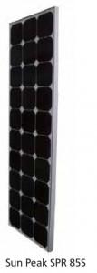 Module photovoltaïque SunPeak - cellules Mono backcontact (SunPower) - 12V - 85Wc - modèle S