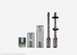 Gamme de pompe immergées LORENTZ PS HR - de 50 à 450m HMT - de 2.5 à 3.9m³/h - PS200 HR, PS600 HR, PS1800 HR, PS4000 HR