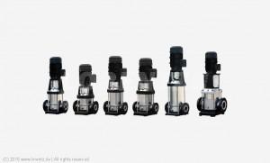 Gamme de pompes de surface LORENTZ PS _ CS-F - de 40 à 700m de HMT - de 8.3 à 59m³/h : PS600 CS-F, PS1800 CS-F & PS4000 CS-F