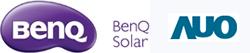 Logo BenQ Solar (AUO depuis 09-2015)