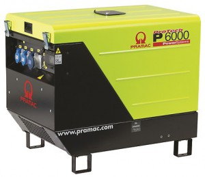 Groupe électrogène PRAMAC P6000
