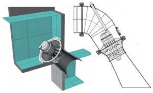 Chambre d'eau + cône aspiration béton haute performance ou pose en conduite Turbiwatt