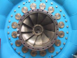 HPP - Hydro Power Plant - Turbine hydro-électrique Francis 01