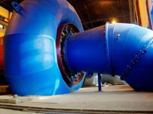 HPP - Hydro Power Plant - Turbine hydro-électrique Francis 02
