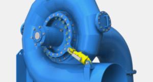HPP - Hydro Power Plant - Turbine hydro-électrique Francis 03