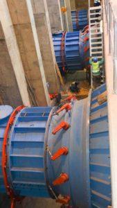 HPP - Hydro Power Plant - Turbine Hydro-électrique Kaplan 02